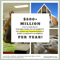 600-plus million diverted from missions