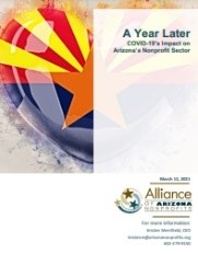 A Year Later: COVID-19's Impact on Arizona's Nonprofit Sector