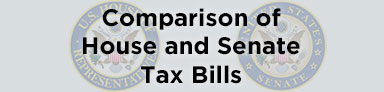 Comparison of House and Senate Tax Bills