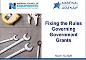 Fixing the Rules Governing Government Grants