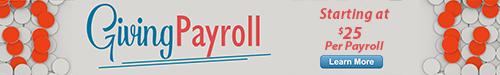Giving Payroll ad