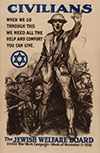 Jewish Welfare Board Poster