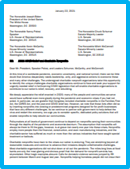 Nonprofit Letter to the New Administration
