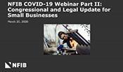 NFIB COVID-19 Webinar