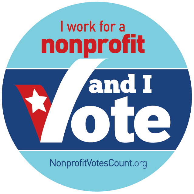 I work for a nonprofit and I vote