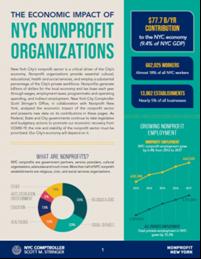 The Economic Impact of NYC Nonprofit Organizations