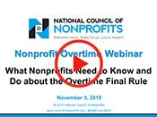 Nonprofit Overtime Webinar