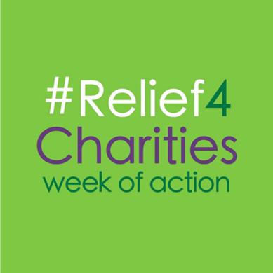 #Relief4Charities