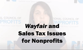 Wayfair and Sales Tax Issues for Nonprofits