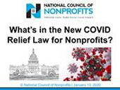 Whats in the New COVID Relief Law for Nonprofits